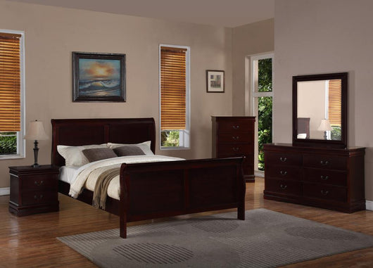 B297 Cherry Bedroom Set