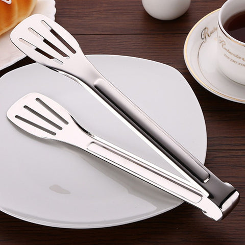 Anti Heat Stainless Steel Food Tongs
