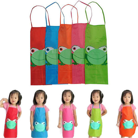 Kids Waterproof Cartoon Bib