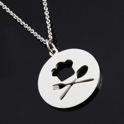 Adorable Fork & Spoon Chain Necklace