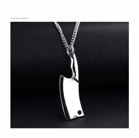 Stunning Kitchen Knife Chain Necklace