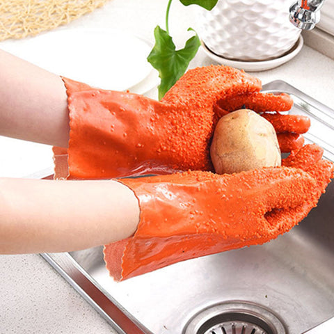 Anti-Skidding Cleaning Vegetable Gloves