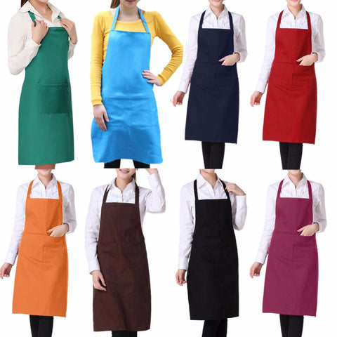 Kitchen Apron With Pockets