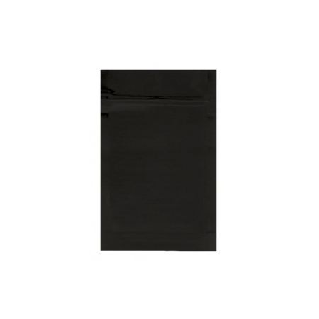 MYLAR SMELL PROOF BAGS | MYLAR BAG BLACK 1/2 OUNCE - 1000 COUNT | Cannabis General