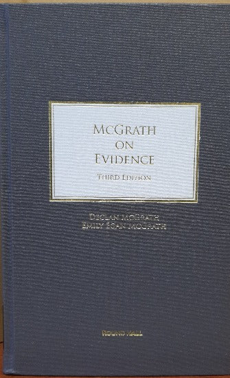 McGrath on Evidence