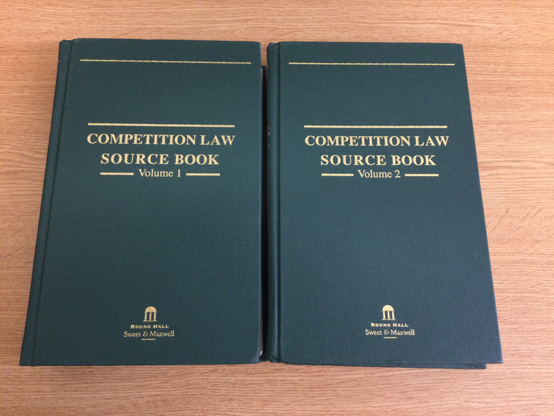Competition Law Source book Vol. 1 and 2