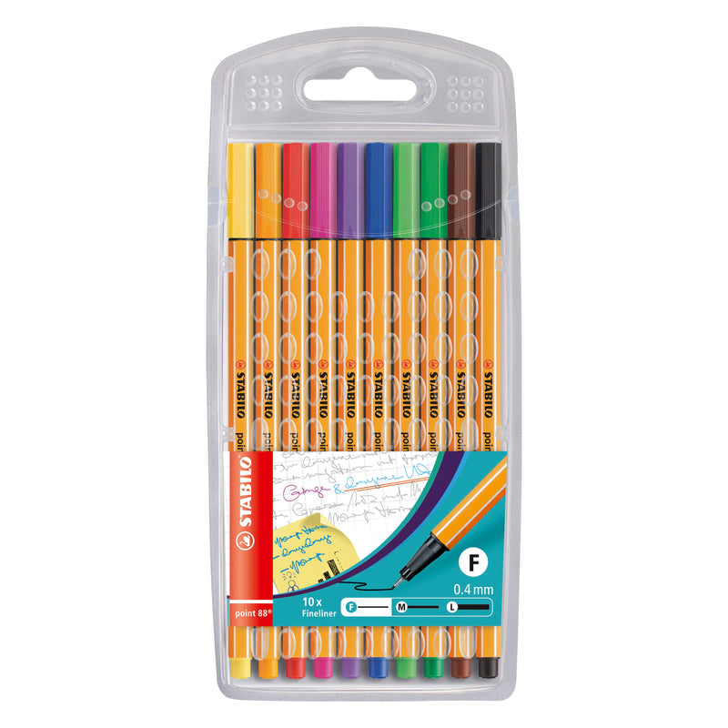 Stabilo Fineliner Pen Assorted