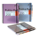 Pukka Pad Project Book Metallic [Pack 3]