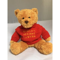 World's Sexiest Lawyer bear