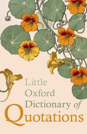 Little Dictionary Of Quotations