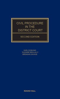 Civil Procedure In The District Court