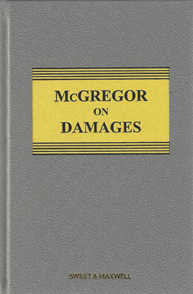 McGregor on Damages 19th ed with 2nd Supplement