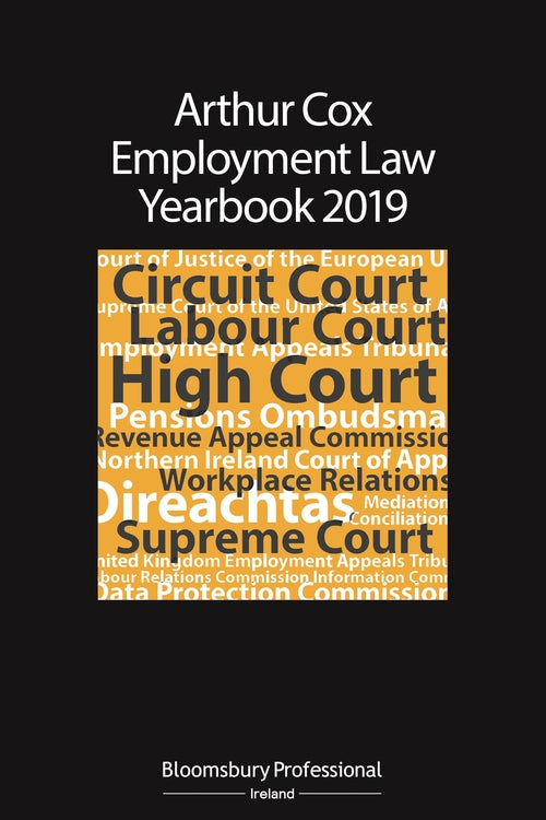 Arthur Cox Employment Law Yearbook 2019