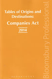 Tables of Origins and Destinations: Companies Act 2014