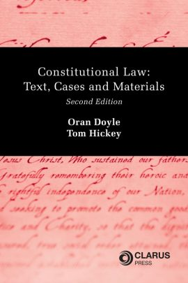 Constitutional Law Text, Cases and Materials