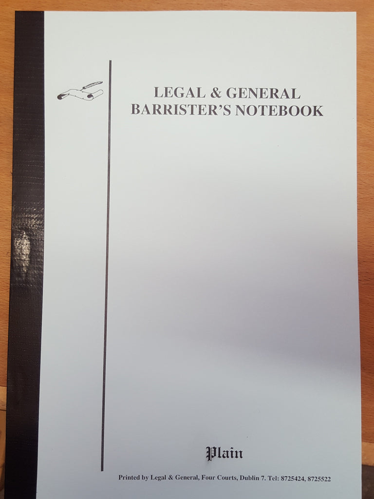 Barristers Notebook