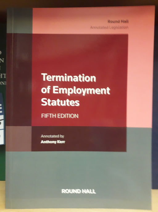 Termination of employment Statutes 5th edition