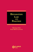 Defamation: Law and Practice