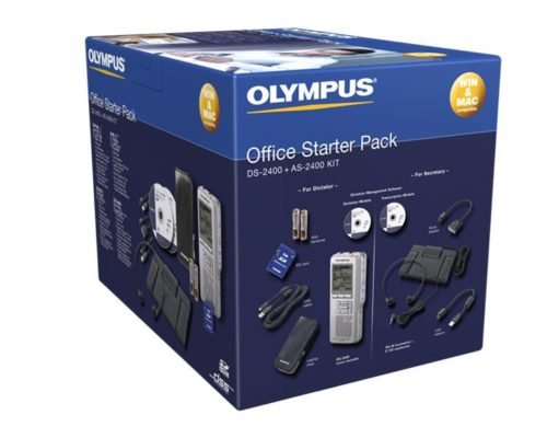 OLYMPUS – NEW Olympus Digital Starter Kit – DS2600 & AS2400