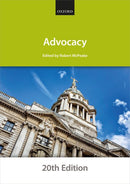 Bar Manuals - Advocacy 20th Edition