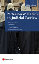 Judicial Review: Law and Practice Third edition