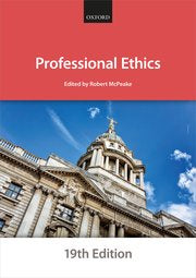 Professional Ethics 19th Edition