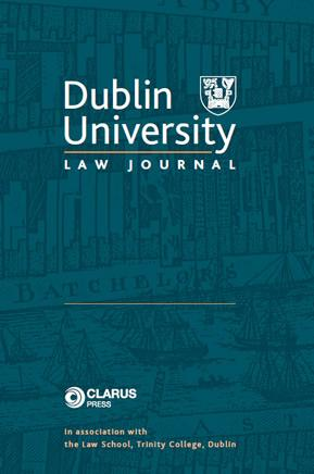 Dublin University Law Journal vl. 41 ( 1 )