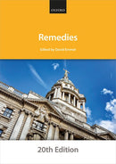 Bar Manuals - Remedies 20th Edition