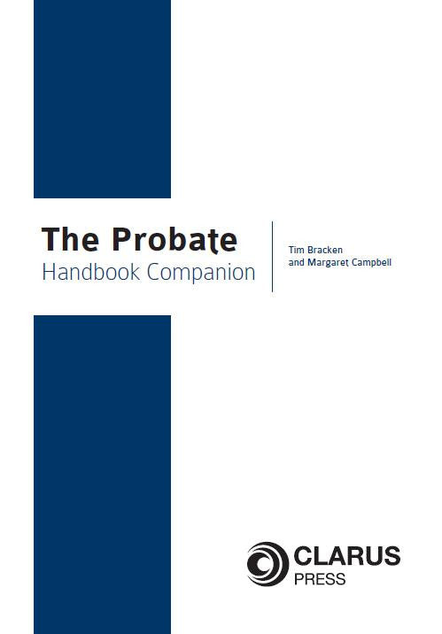 The Probate Handbook Companion