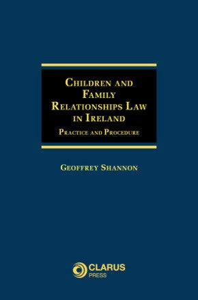 Children and Family Relationships Law in Ireland
