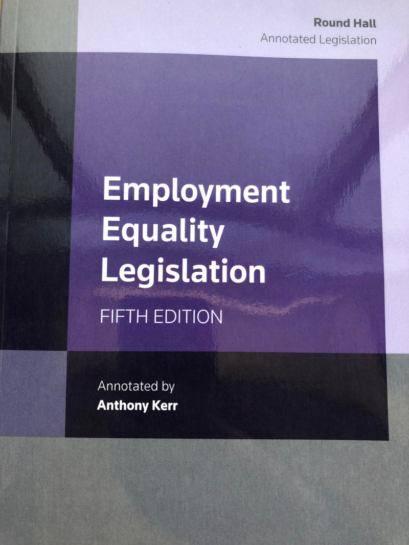 Employment Equality Legislation [Paperback]