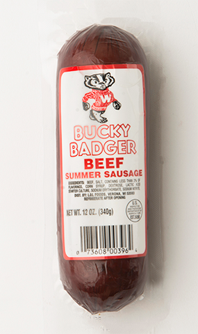 Bucky Badger Summer Sausage