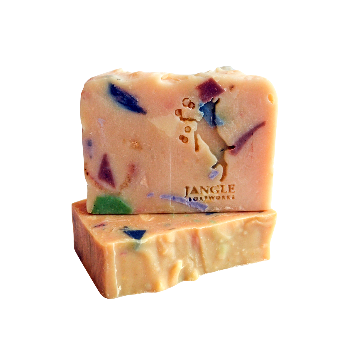 confetti goal milk soap