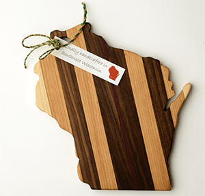 Wisconsin cutting board  - WiscoBoxes
