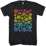 45 45s Color Gradient T-shirt