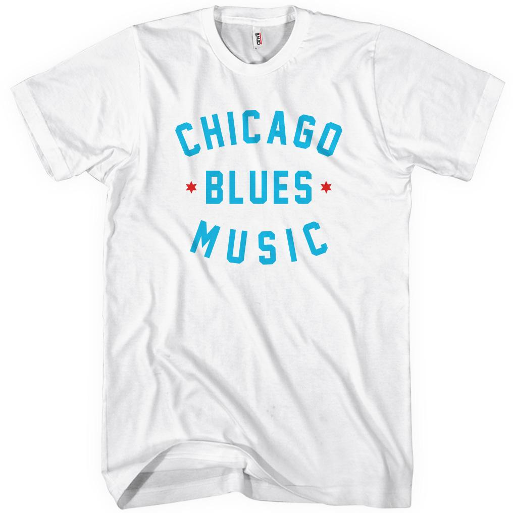 Chicago Blues Music T-shirt