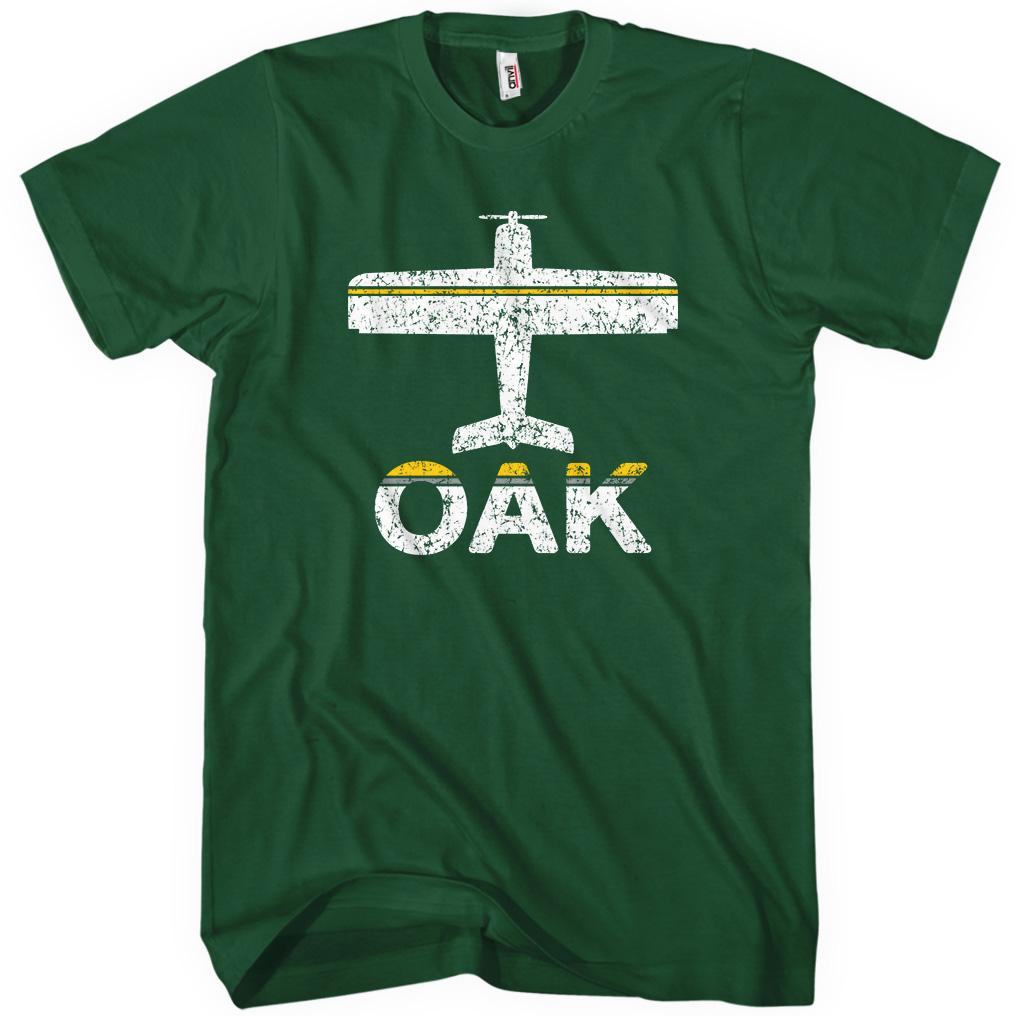 Fly Oakland OAK Airport T-shirt