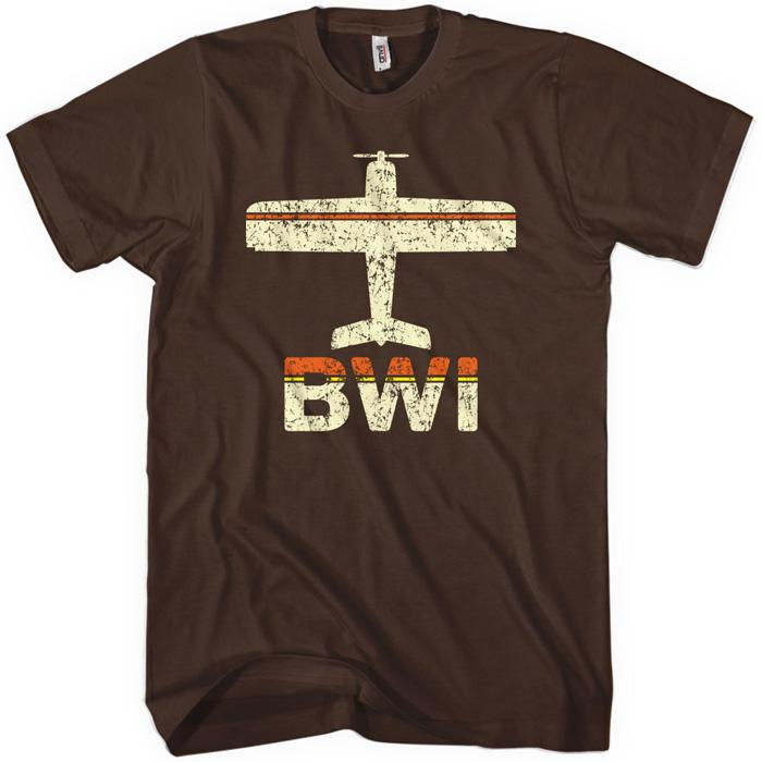 Fly Baltimore BWI Airport T-shirt