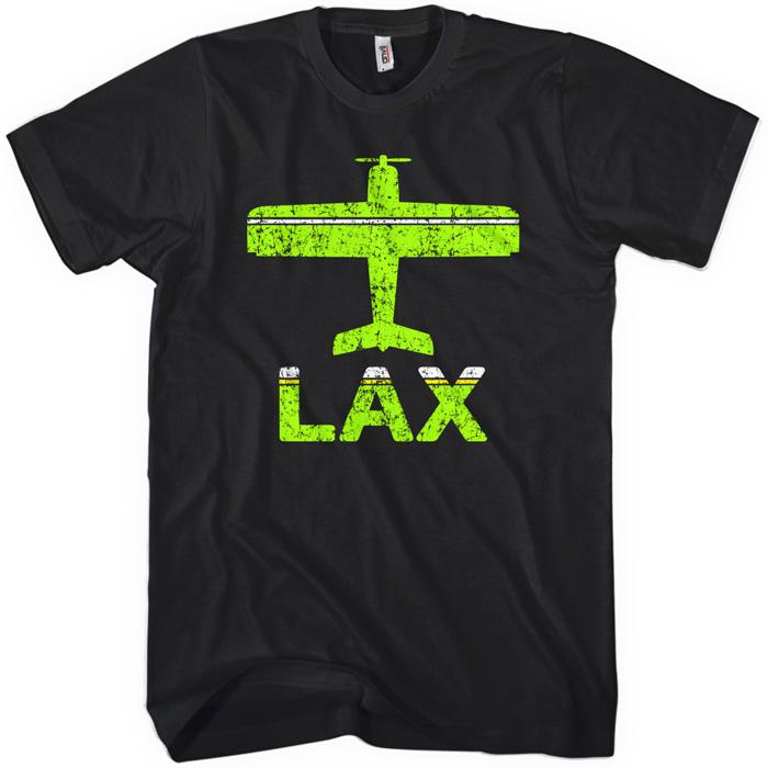 Fly Los Angeles LAX Airport T-shirt