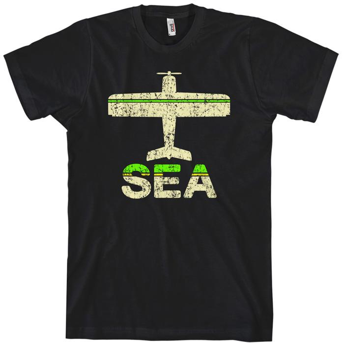 Fly Seattle SEA Airport T-shirt