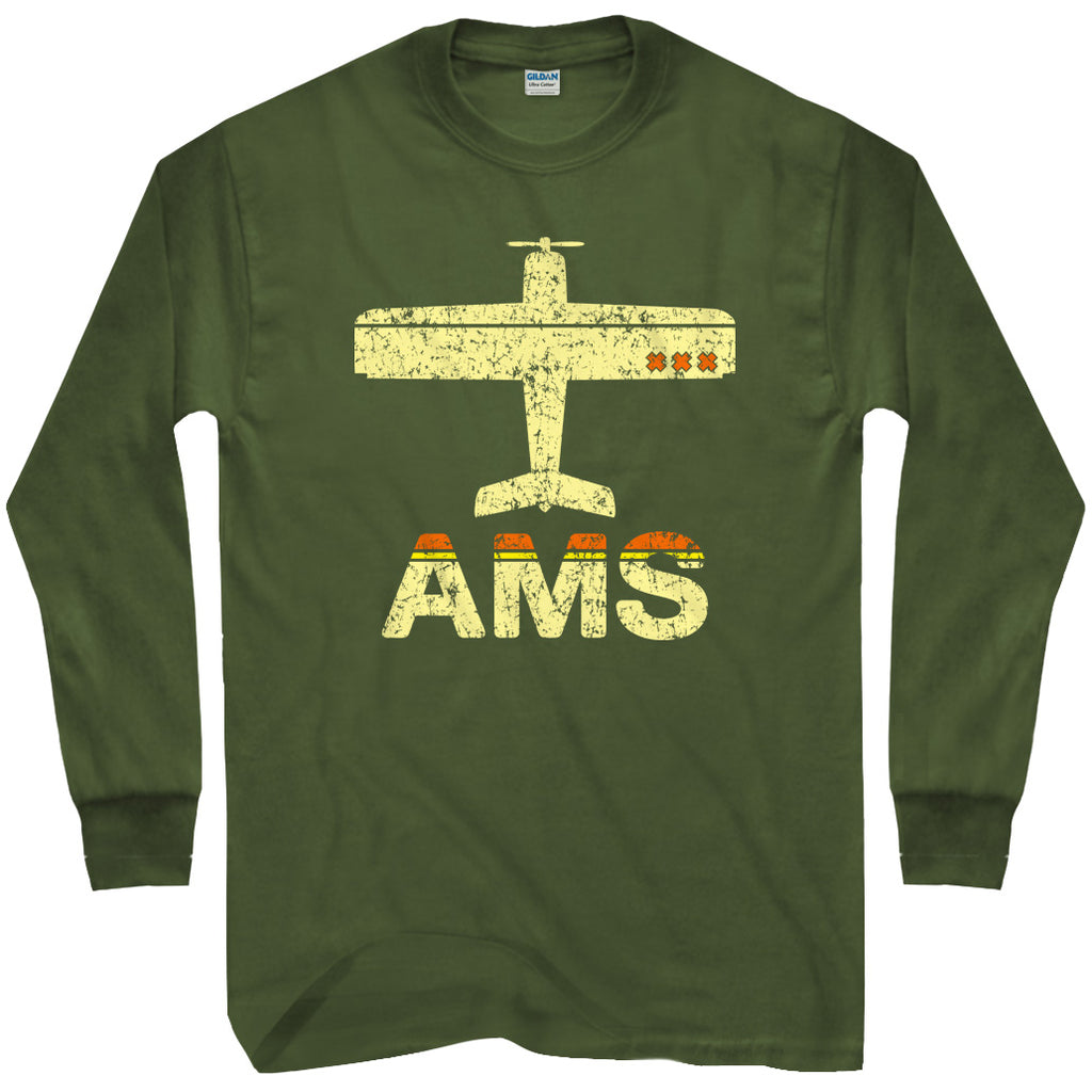 Fly Amsterdam AMS Airport T-shirt