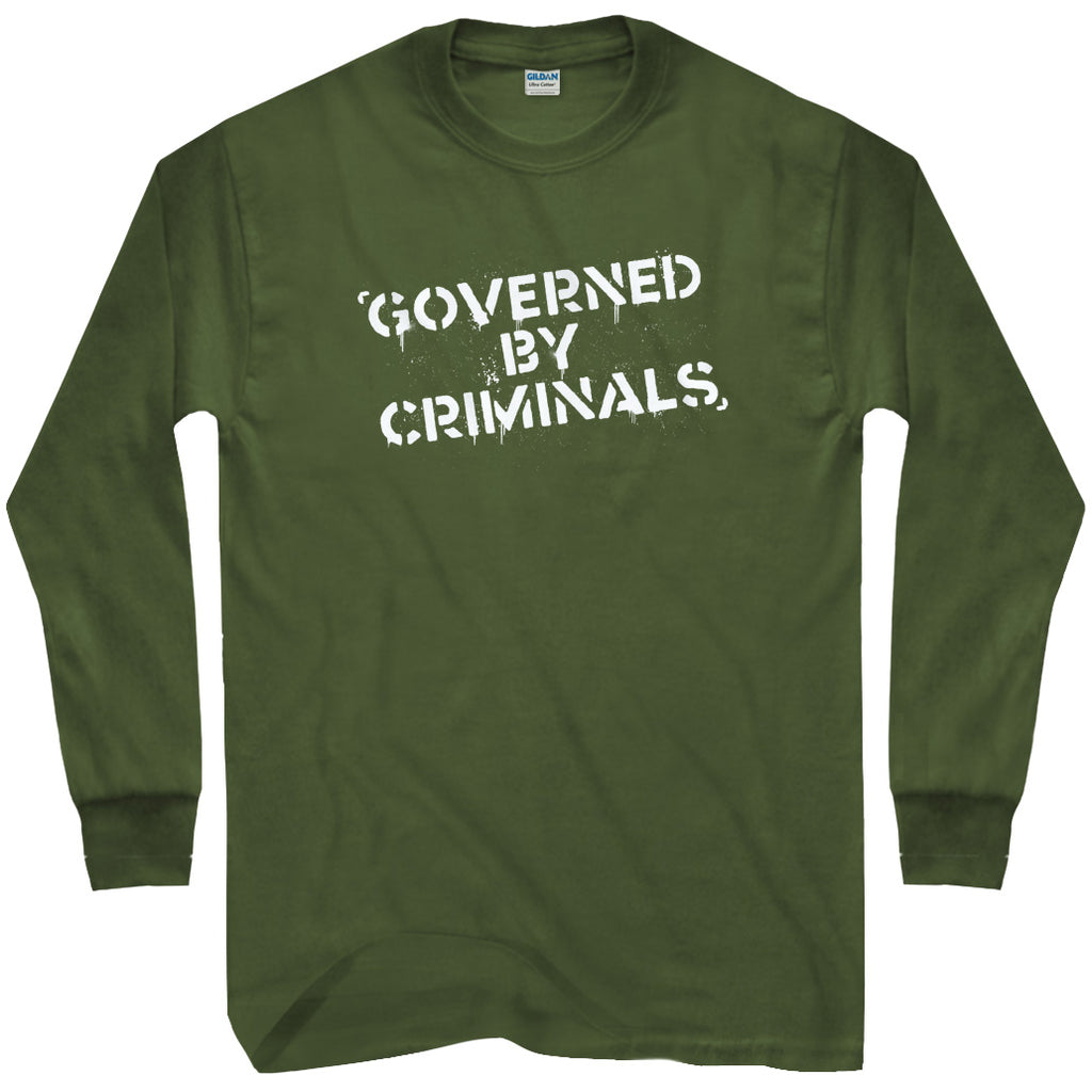 Governed by Criminals T-shirt