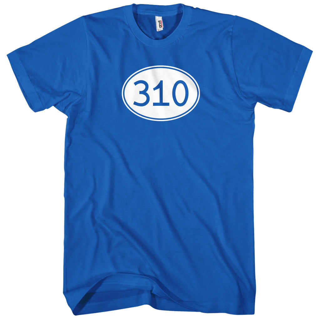 Area Code 310 Los Angeles T-shirt