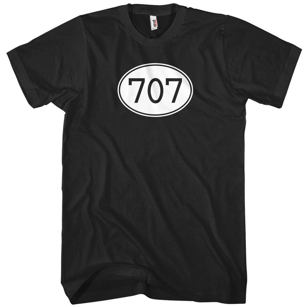 Area Code 707 T-shirt