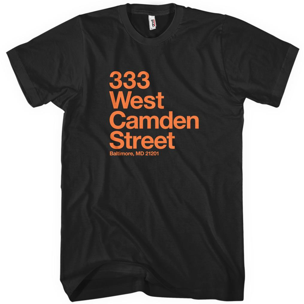 Baltimore Baseball Stadium T-shirt