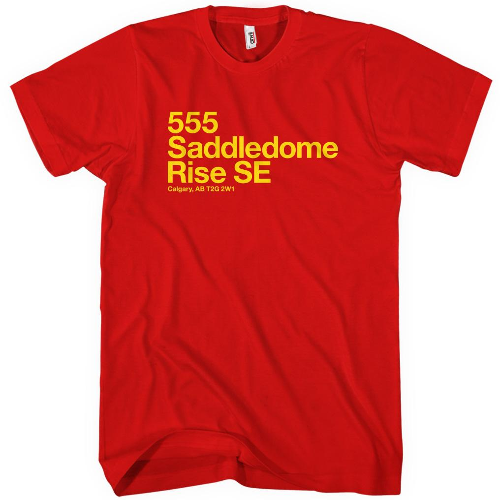Calgary Hockey Stadium T-shirt