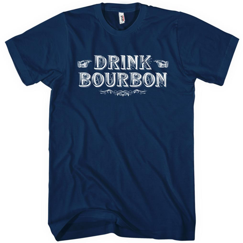 Drink Bourbon T-shirt