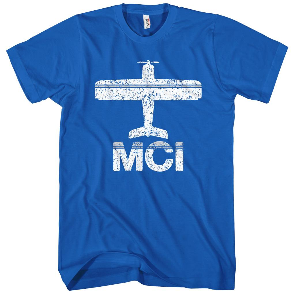 Fly Kansas City MCI Airport T-shirt