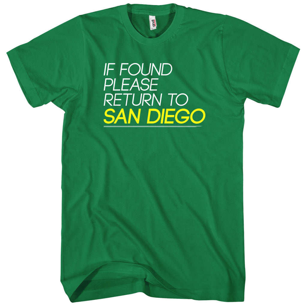 Return To San Diego T-shirt