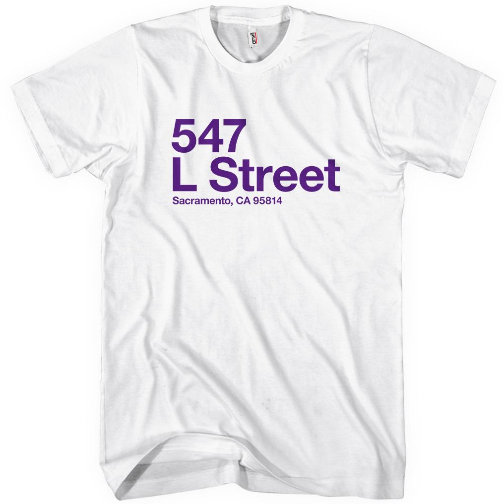 Sacramento Basketball Stadium T-shirt